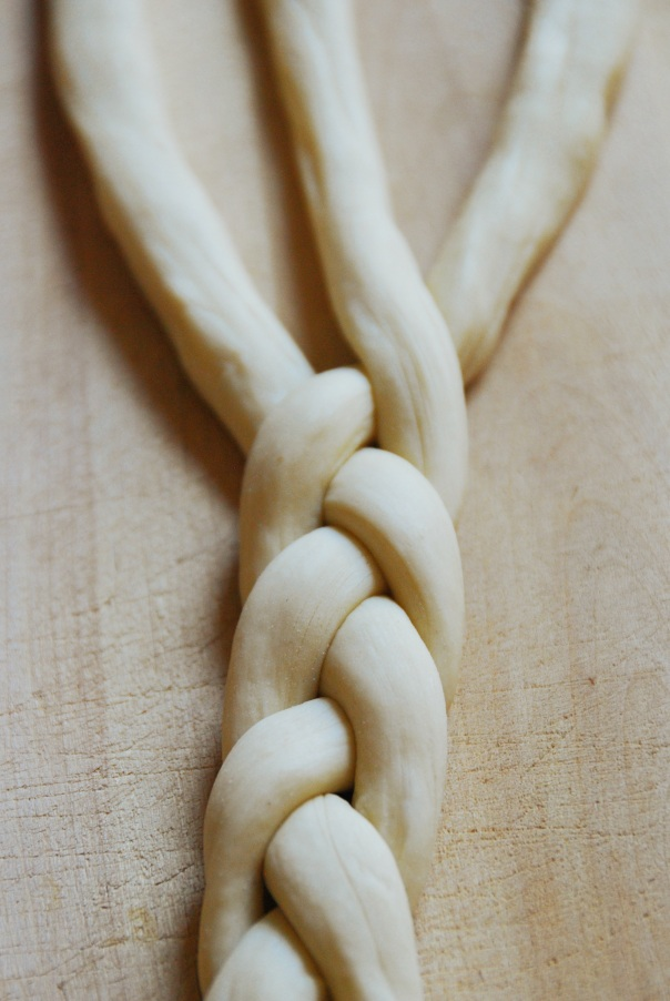 yeast dough strands