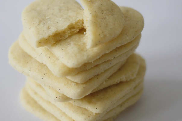 Vanilla Cardamom Cookies